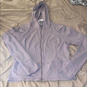 Lulu lemon purple zip up define